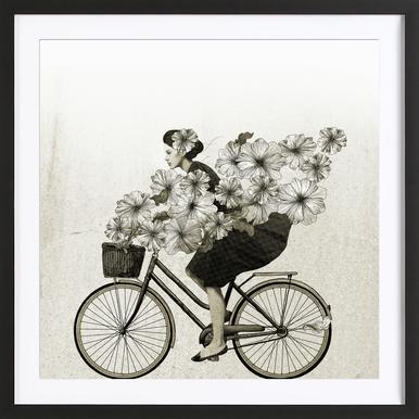 Ride Framed Print