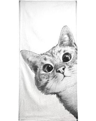 Sneaky Cat handdoek