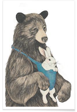 Bear Au Pair Poster