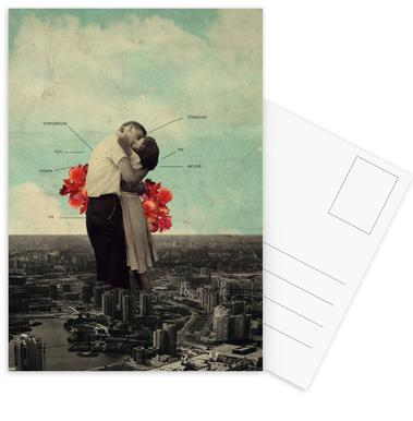 Never Forever Set de cartes postales