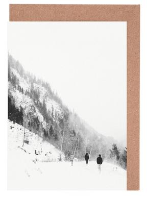 Winter Tag 5 Greeting Card Set
