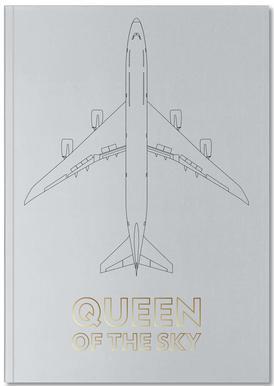Queen of the Sky Notitieboekje