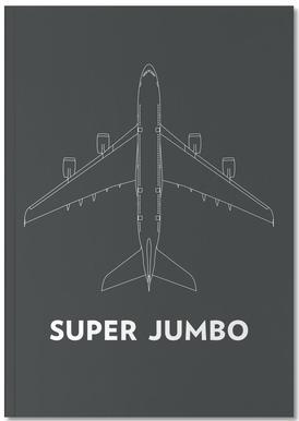 Super Jumbo Airbus A380 Notebook
