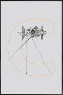 Cassini Framed Poster
