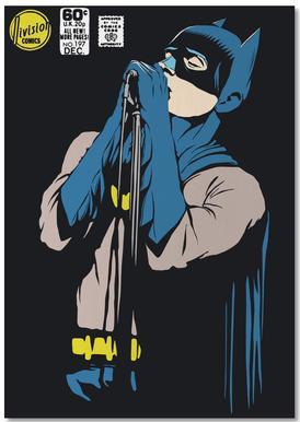 Post-Punk Dark Knight - Shadowplay Notepad