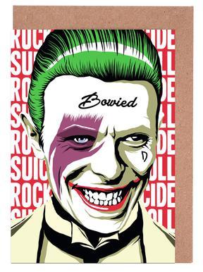 Joker greeting cards juniqe rocknroll suicide butcher billy greeting m4hsunfo