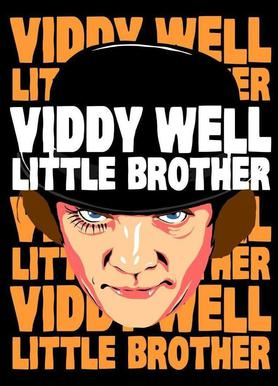 Viddy Well Little Brother canvas doek