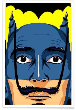 Dali Batman Poster
