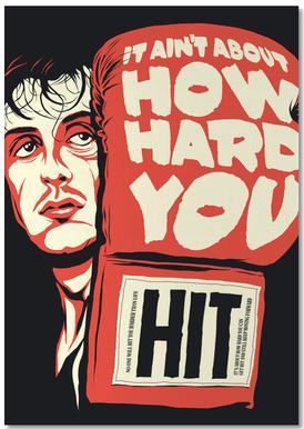 How Hard You Hit Notizblock