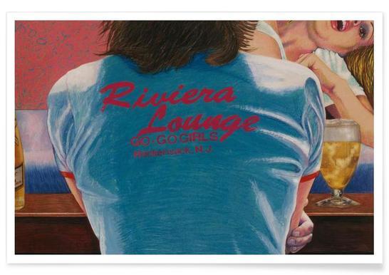 riviera lounge Plakat