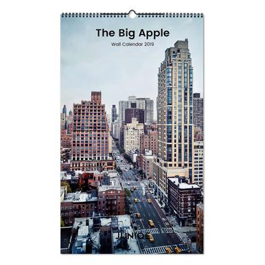 The Big Apple 2019 Calendrier mural