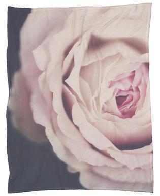 Rose Pink Fleece Blanket