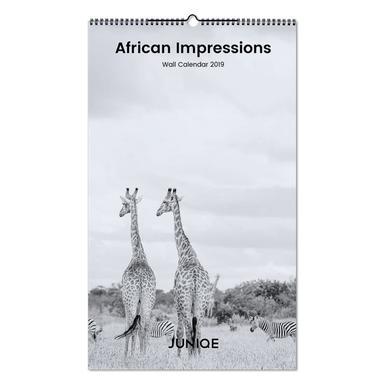 African Impressions 2019 Calendrier mural
