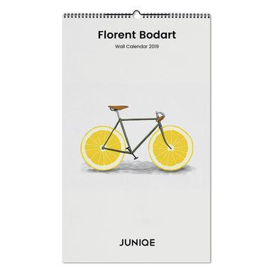 Florent Bodart 2019 Wall Calendar