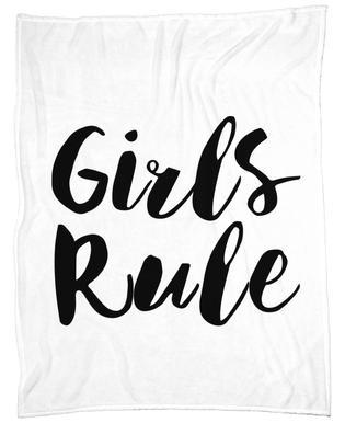 Girls Rule Plaid