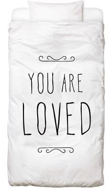 You Are Loved Linge de lit enfant