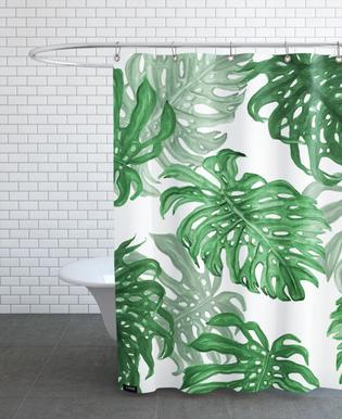Monstera Deliciosa Shower Curtain