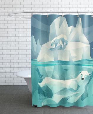 Polar Bear Douchegordijn