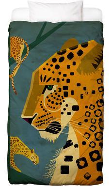 Leopard Linge de lit enfant