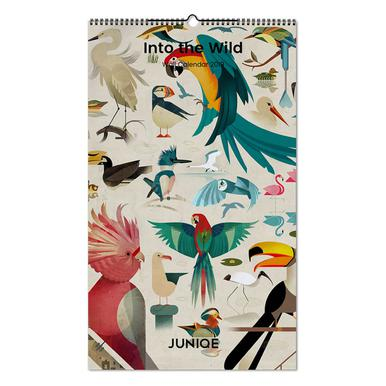 Into the Wild 2019 Calendrier mural