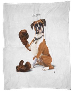 The Boxer (Wordless) Fleece Blanket