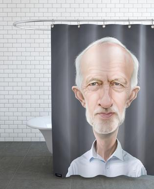 Jeremy Corbyn Shower Curtain