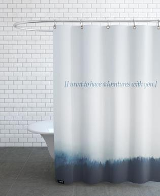 Adventures With You Shower Curtain
