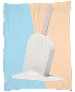 Melting Marshmallow Popsicle Fleece Blanket