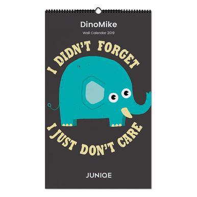 DinoMike 2019 Wall Calendar