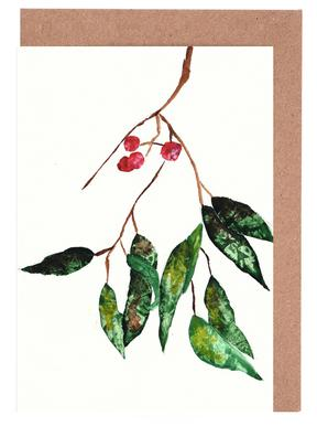 Autumn Berry 2 Greeting Card Set