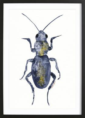 Hello Beetle Framed Print
