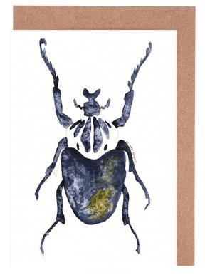 The Old Beetle Greeting Card Set
