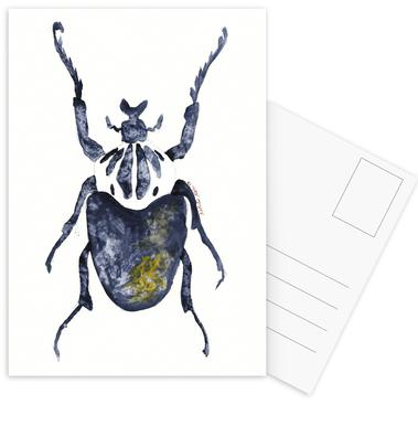 The Old Beetle Postcard Set