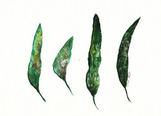 All My Leaves -Leinwandbild