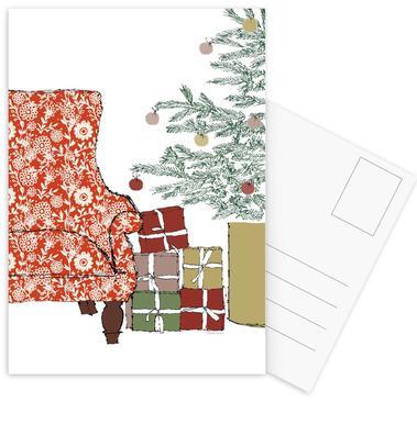Happy Christmas Time Postcard Set