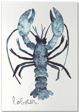 Lobster -Notizblock
