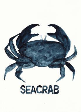 Seacrab -Leinwandbild