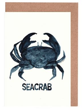 Seacrab Set de cartes de vœux