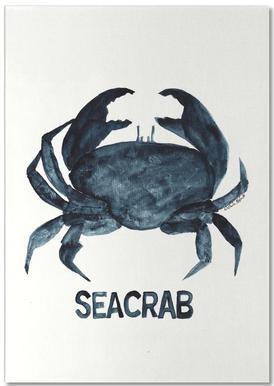 Seacrab -Notizblock