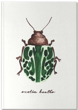 Exotic Beetle Carnet de note