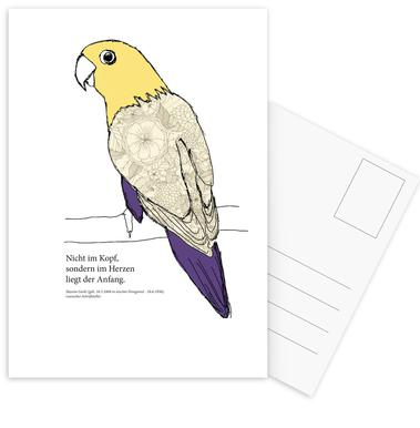 Balu Set de cartes postales