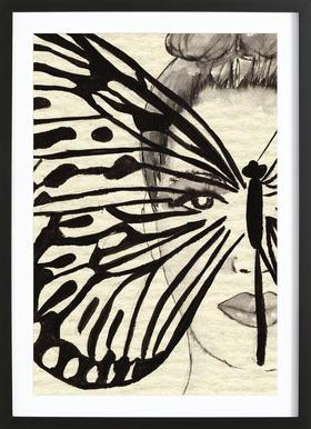 Mystic Butterfly Framed Print