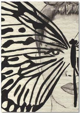 Mystic Butterfly notitieblok