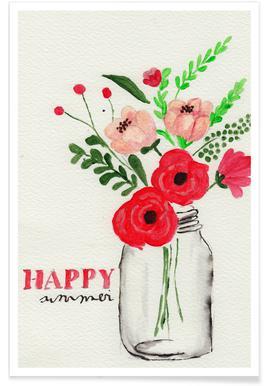 Happy Summer Poster