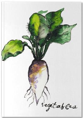 Vegetables Notitieboekje