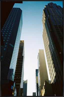 New York City Poster im Kunststoffrahmen