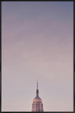 Empire State affiche encadrée