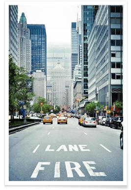 Fire Lane Poster