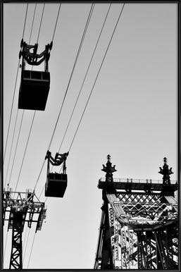 Up In The Air affiche encadrée