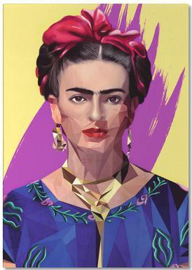 Modern Frida Notepad | JUNIQE